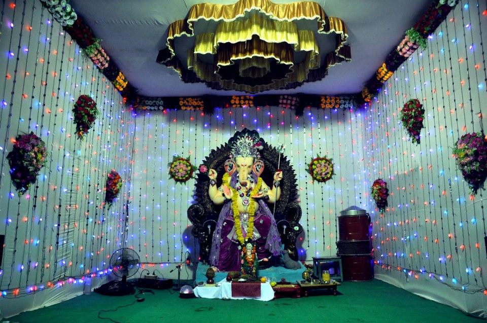 Ganesh utsav navratri utsav ganesh wallpaper navratri for Background decoration for ganesh festival