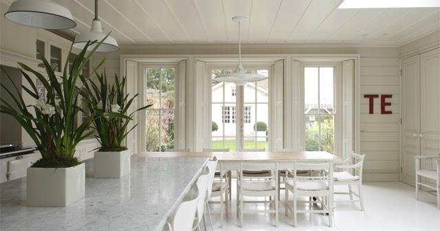 Rustik chateaux acogedor ambiente cocina comedor y for Decoracion de living comedor integrados