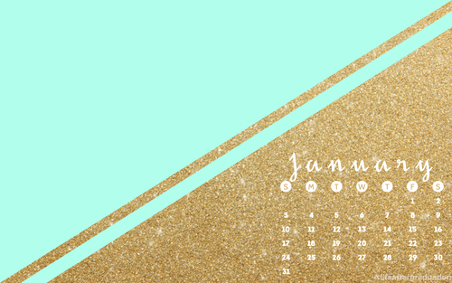 january 2016 calendar desktop