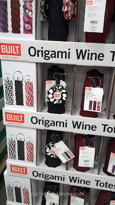 Wine makes a great holiday gift and the Built New York Origami Wine Tote is a perfect  gift bag