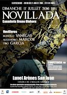 Manolo Vanegas, anunciado en Lunel, el 17/07.