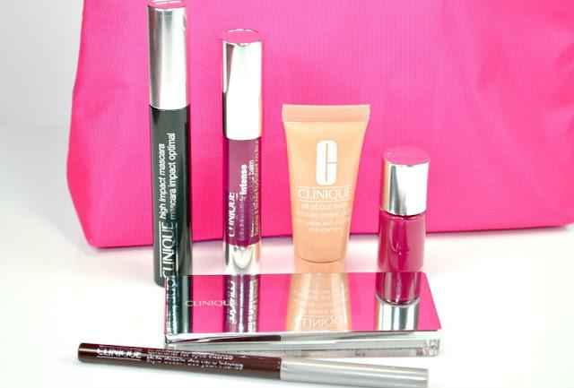 Clinique party favours gift set miss makeup magpie