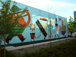 Keys to the City Mural – South Lake Union