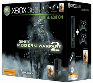 This Limited Edition Modern Warfare 2 Xbox 360 Console