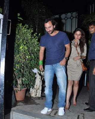 John Abraham, Saif and Kareena Kapoor at Dewan's new restaurant