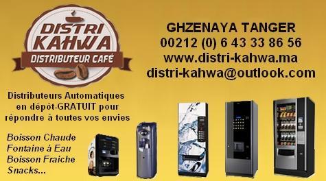 Distributeur Automatique Cafe Maroc