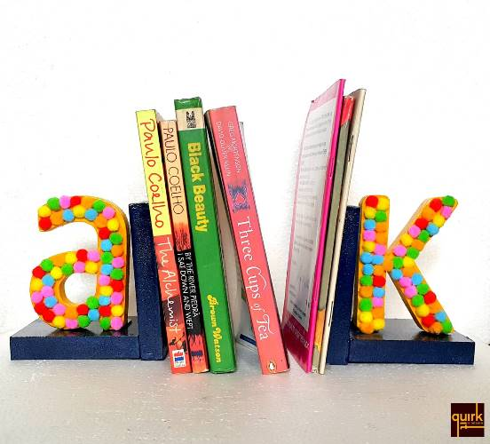 quirkitdesign_book ends_color_fun_funky_quirky_DIY_decor_kids_home_room_1