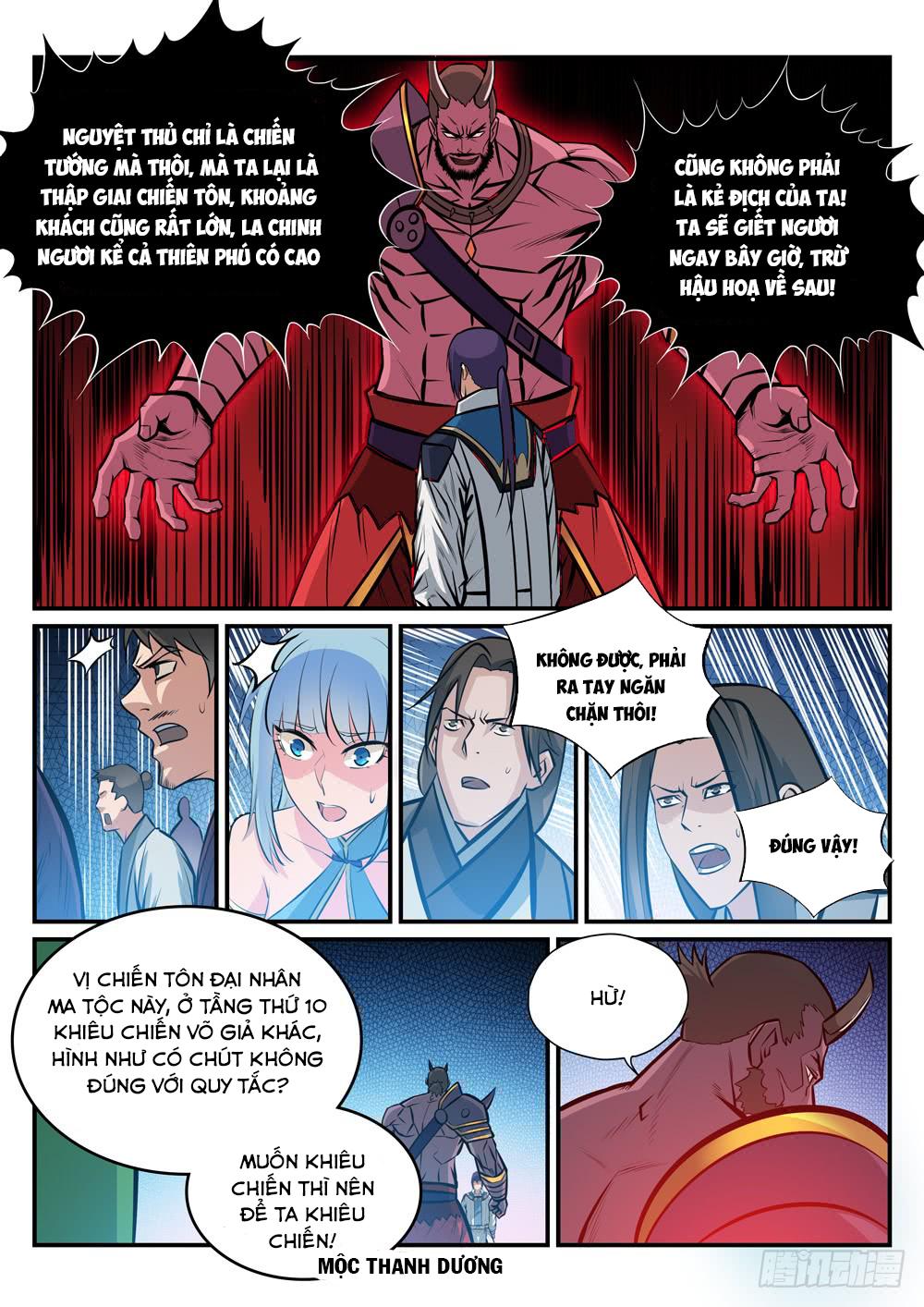 BÁCH LUYỆN THÀNH THẦN Chap 255 - Trang 14