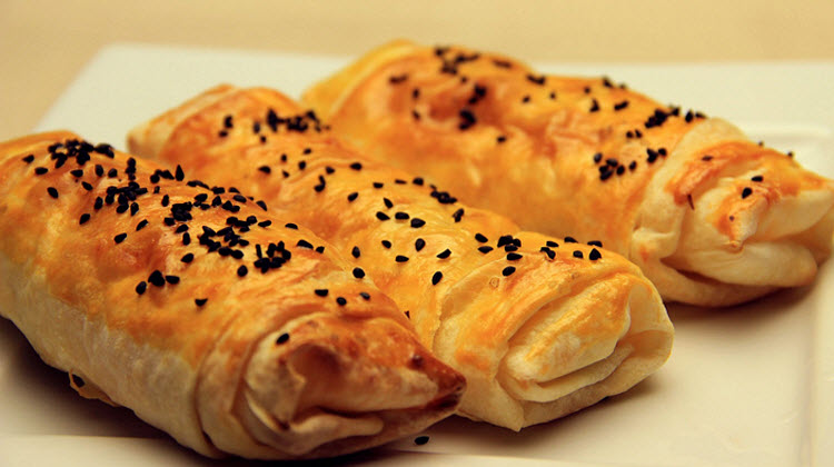 Crispy Turkish Pastry with Feta Cheese