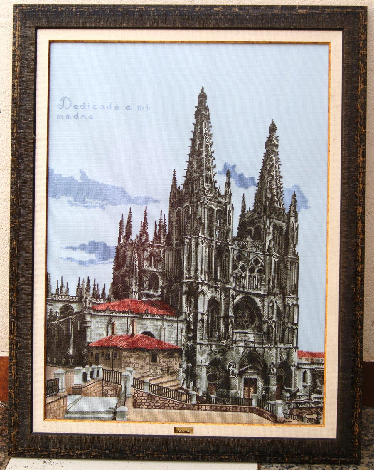 Punto de cruz el rac de la maribel la catedral de burgos - Cuadros de escayola ...