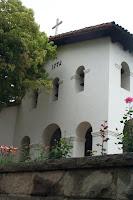 Belfry of San Luis Obispo Mission