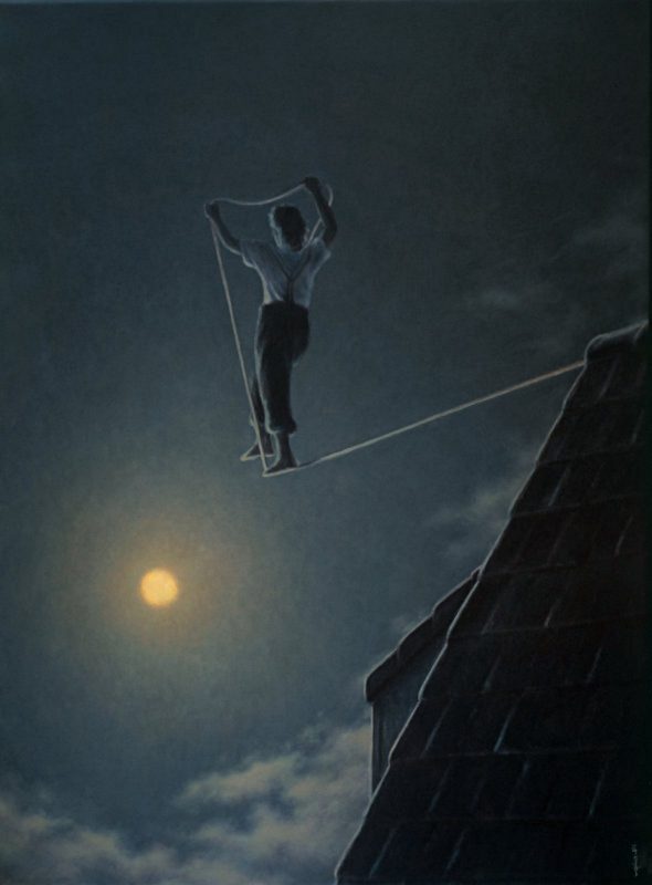 Livet forstås baglæns, men må leves forlæns -- Giacomond by Quint Buchholz