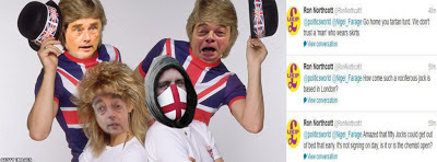 Farage, Kilroy-Silk, Monckton and EDL numbskull