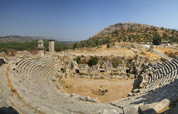 Xanthos-Letoon Turkey  The World Travel