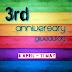 3rd Anniversary Giveaway by ChipmunkandBarney