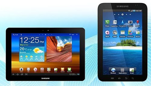 Tablet Android Samsung Galaxy Tab P1010 Wi-Fi