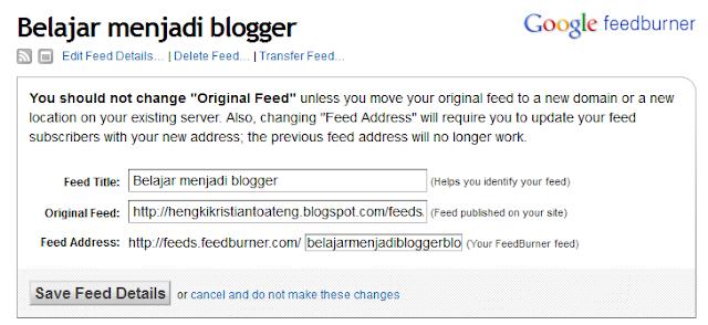 bagaimana cara membuat feedburner 5