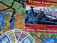 The Trans Europa board game