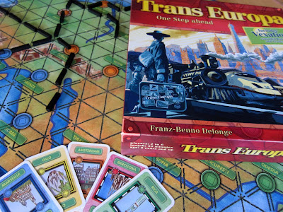 Trans Europa - The board, cards and box