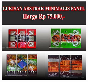 LUKISAN ABSTRAK PANEL