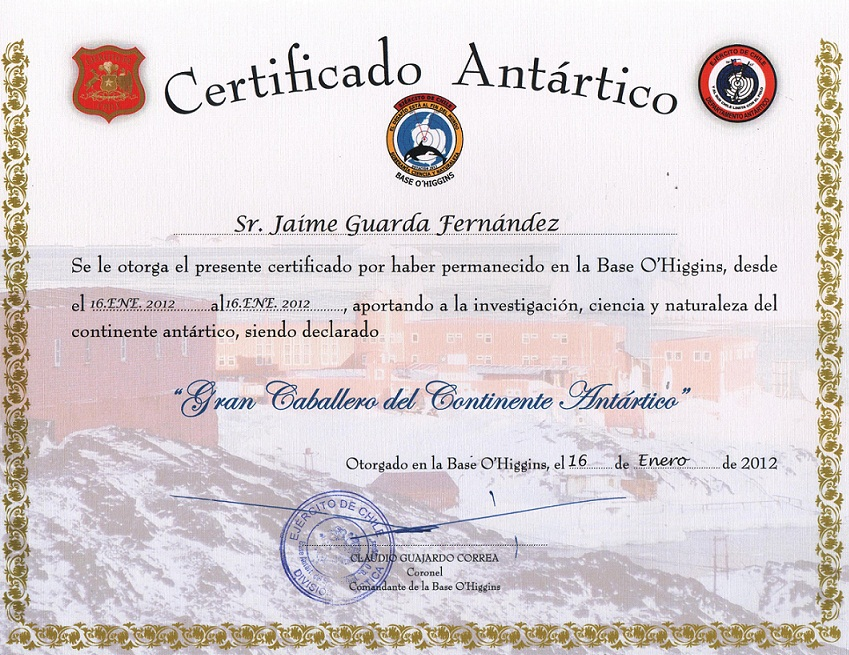Caballero Antártico