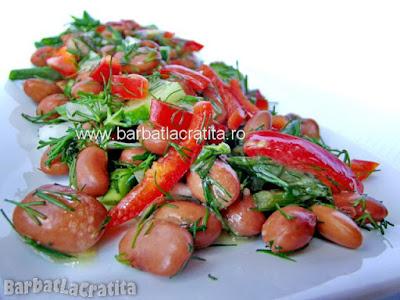 Salata de fasole boabe reteta