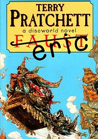 Cover of Eric, a novel by Terry Pratchett