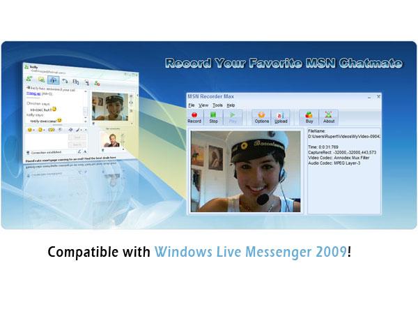 MSN Recorder Max 4.3.5.8 للتسجيل كاميرا الماسنجر