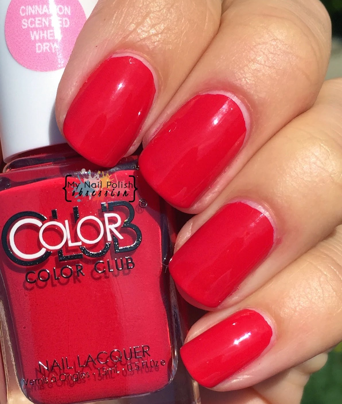Color Club Red-Handed