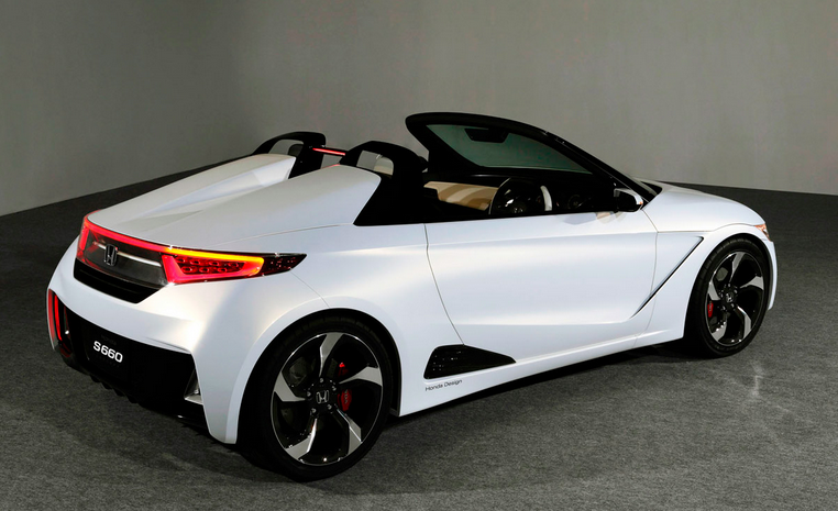 another side view of Sri Lankan hot actress and model Yureni Noshika's new car Honda S660