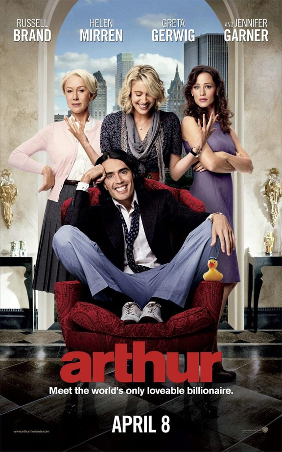 Arthur 2011 Movie Poster