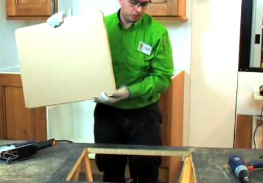 Como armar mueble cocina melamine 6 h galo usted mismo for Como armar un mueble de cocina
