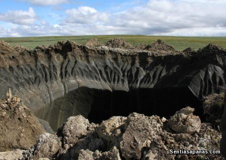 Mysterious giant Hole in Siberia