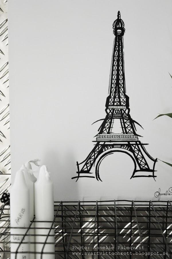 eiffeltornet artprint, artprints, print, prints, konsttryck, tavla, tavlor, design canvas varberg, annelie palmqvist, försäljning tavlor, tavlorna,