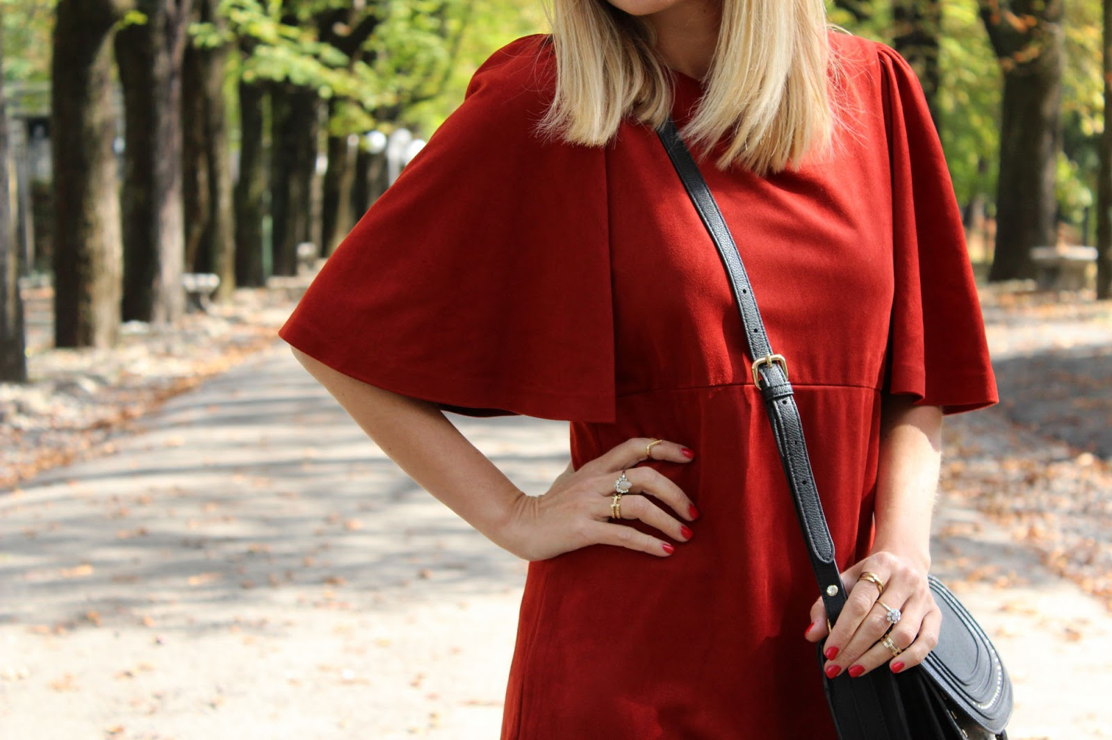 Eniwhere Fashion - Zara red dress