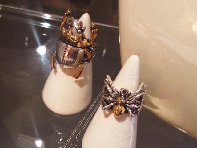 London Fashion Week SS14, Wonsuponatime, LFW, Yasmin Everley, FashionFake, jewellery