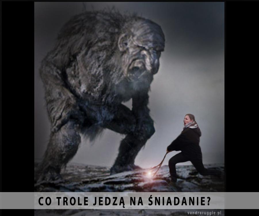 Vandrer - walka z trolem