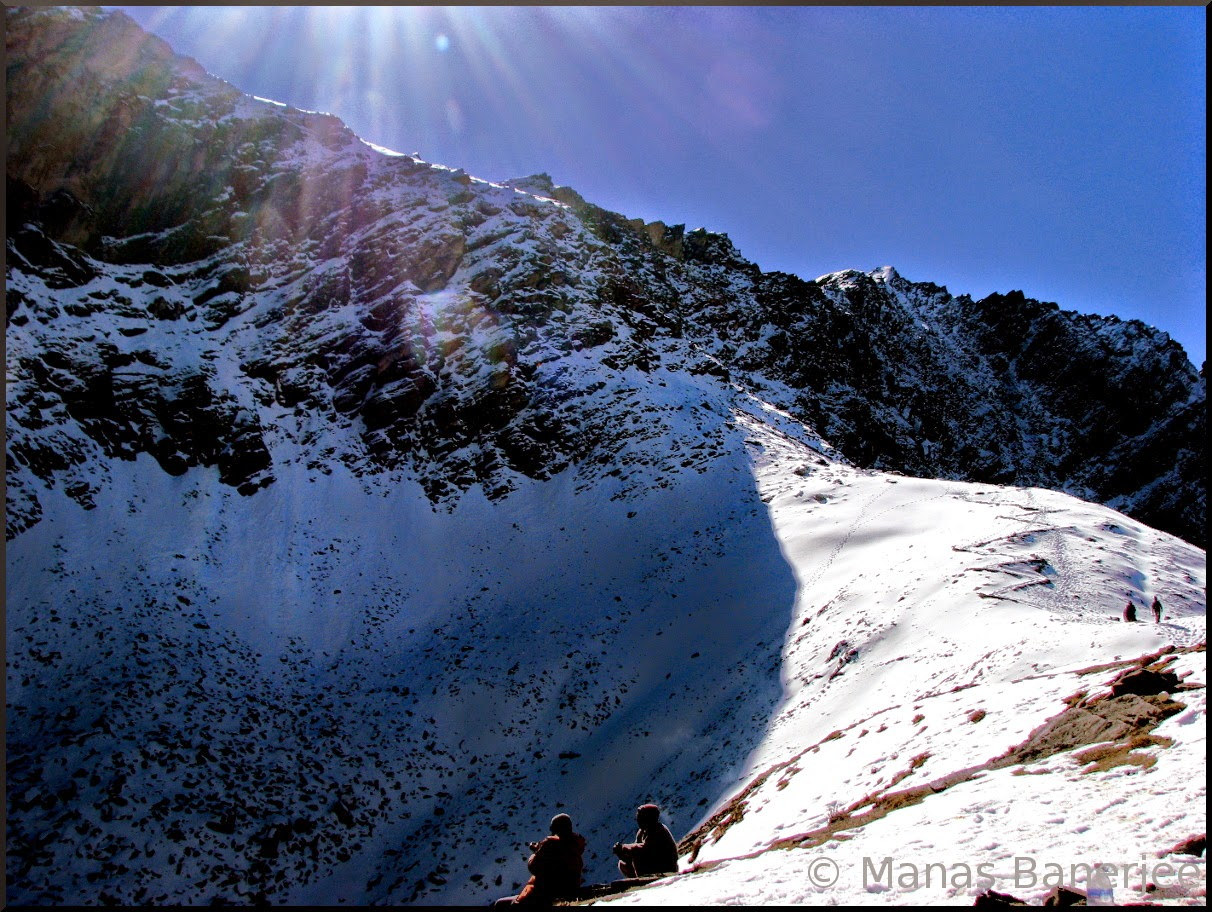 The final destination of Roopkund Trek
