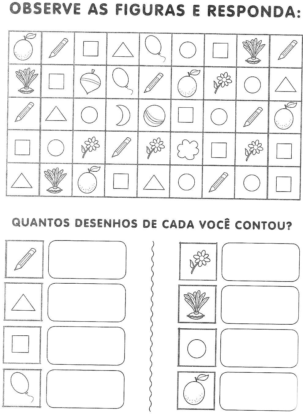 ATIVIDADES DE MATEM  TICA GR  FICOS 1   ANO  TABELA E LEGENDA