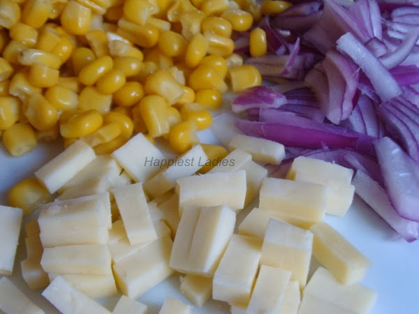 cottage cheese & sweet corn