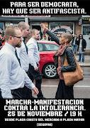 Marcha-Manifestación Contra la Intolerancia