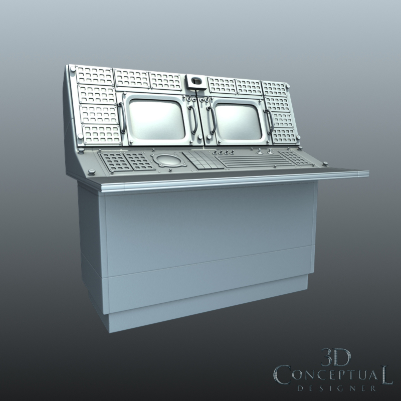 3DconceptualdesignerBlog: 3D Model Sales Part V 1960\'s Retro Mission ...