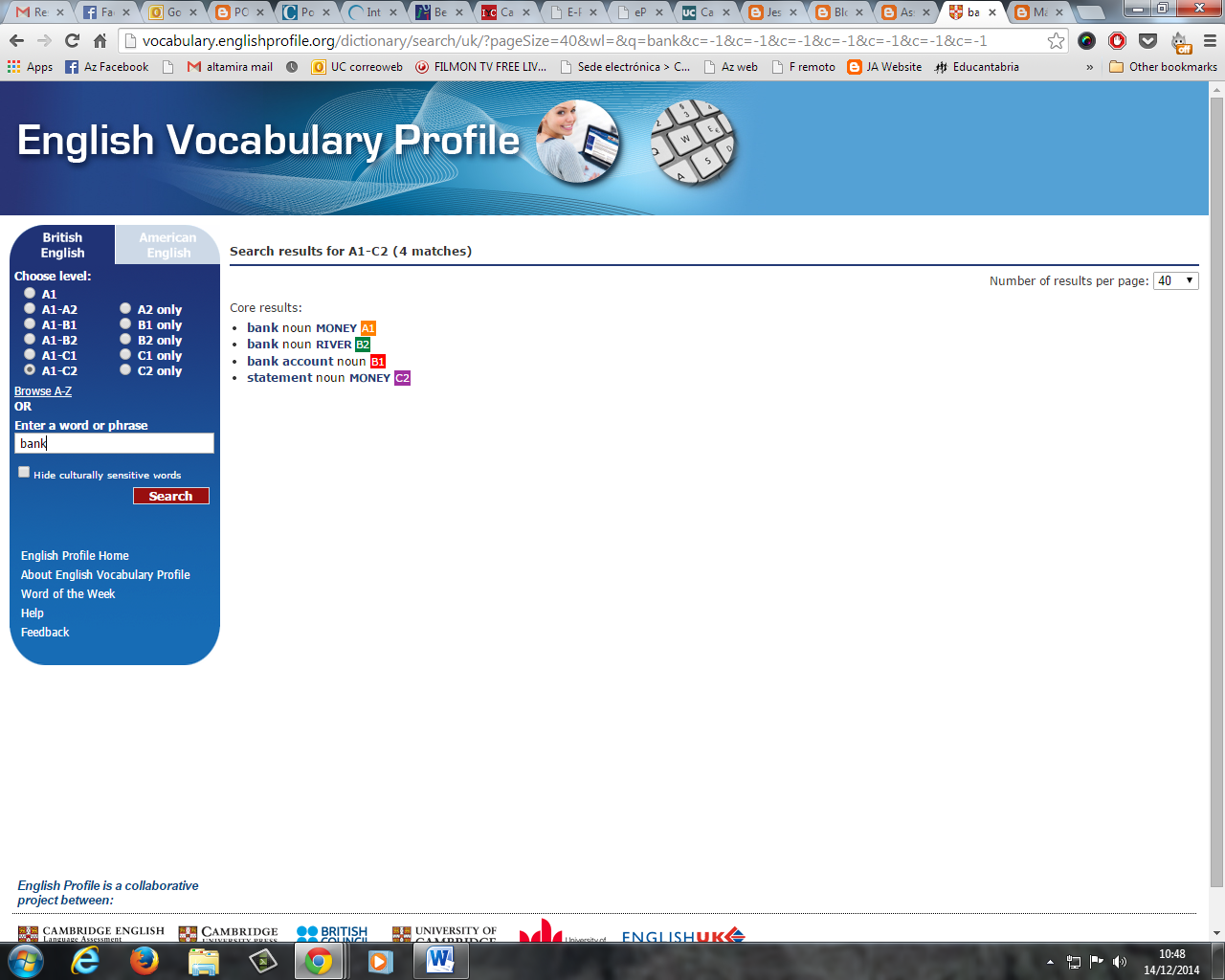 ENGLISH VOCABULARY PROFILE PDF DOWNLOAD
