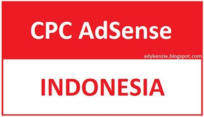 CPC Adsense Blog Bahasa Indonesia Cukup Tinggi