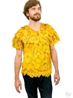 Koleksi Baju Unik, Terbuat dari Daun