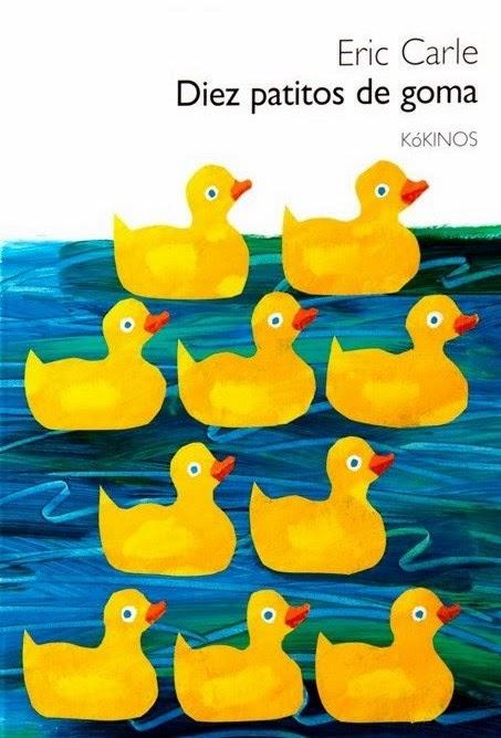 Diez patitos de goma, de Eric Carle