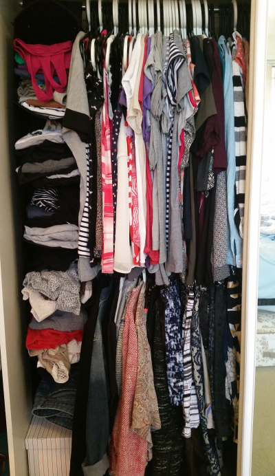 Away From The Blue Aussie Blogger Wardrobe Inventory Unorganised Closet