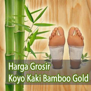 harga grosir koyo kaki bamboo gold