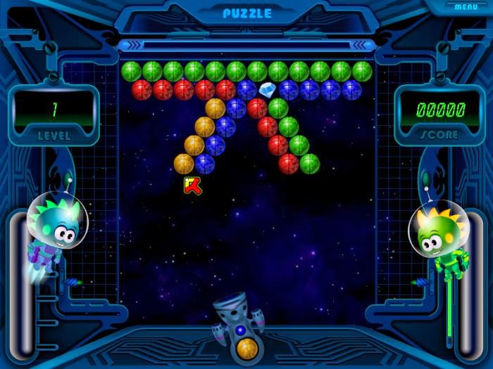 Space Bubbles Free Puzzle Game For PC
