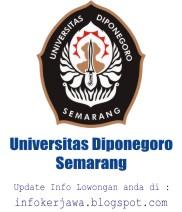 Lowongan Kerja Universitas Diponegoro (UNDIP) Semarang
